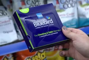 Bluebird prepaid debit card