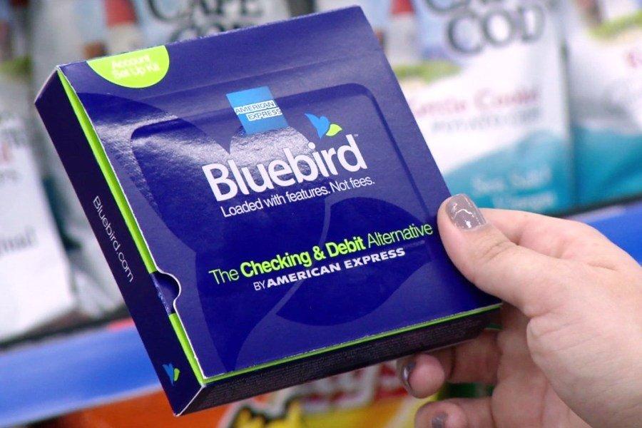 Bluebird prepaid card